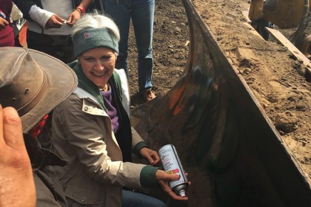 Jill Stein a posté sur Twitter une photo... (PHOTO AP)