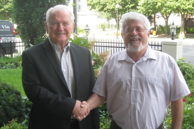 L'ancien directeur général et président national, Marcel Beauchemin,... (Marc Rochette)