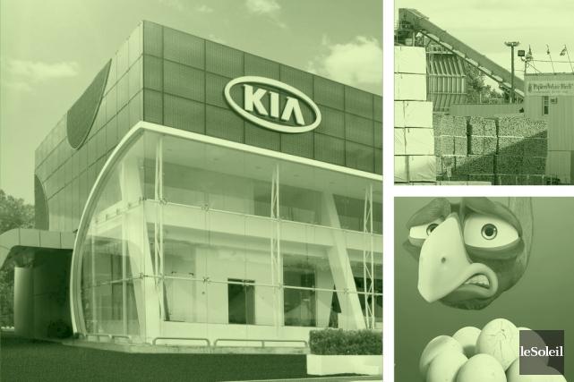 Un nouveau concessionnaire Kia ouvrira ses portes à Val-Bélair, ce qui... (Infographie Le Soleil)