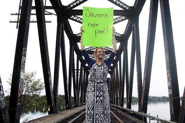 Aileen Duncan était de ceux qui ont manifesté... (Etienne Ranger, LeDroit)