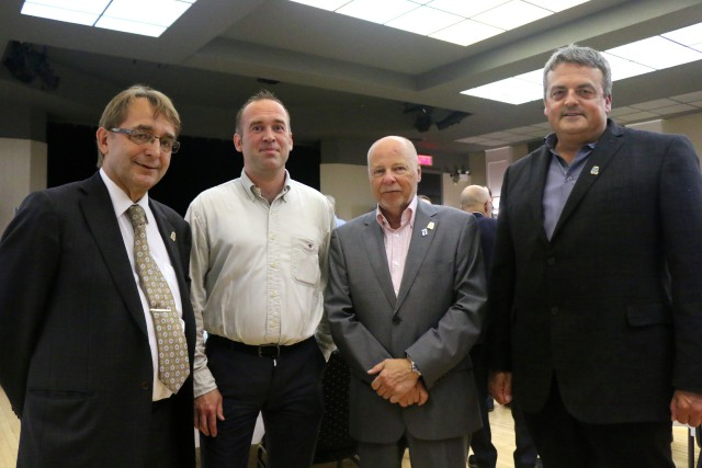 Patrice Mangin, directeur général de BELT, Marko Nokkala,... (Audrey Tremblay)