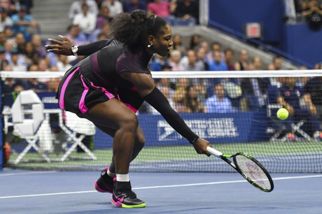 L'Américaine Serena Williams a vaincu la Roumaine Simona... (Photo AFP)