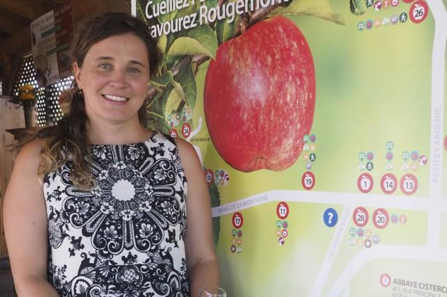 La présidente de Tourisme Rougemont, Isabelle Robert.... (Alain Dion)