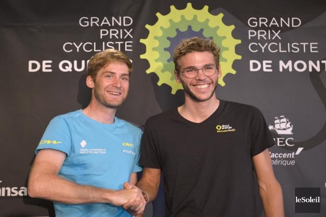 Hugo Houle et Antoine Duchesne sont deux des... (Le Soleil, Yan Doublet)
