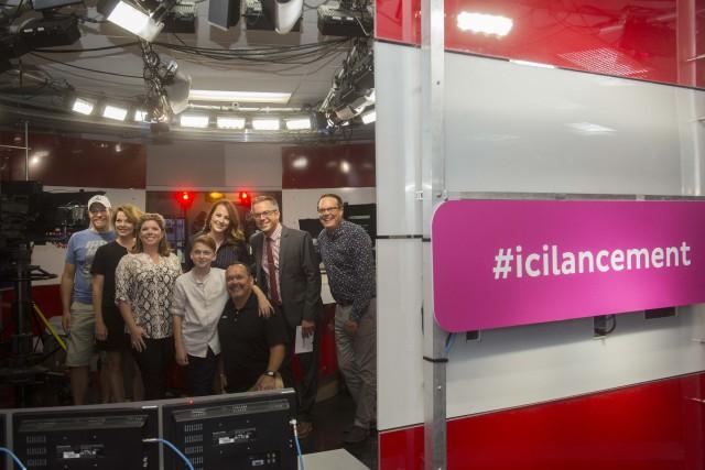 ICI Estrie a procédé à son lancement de... (Spectre média, Julien Chamberlant)