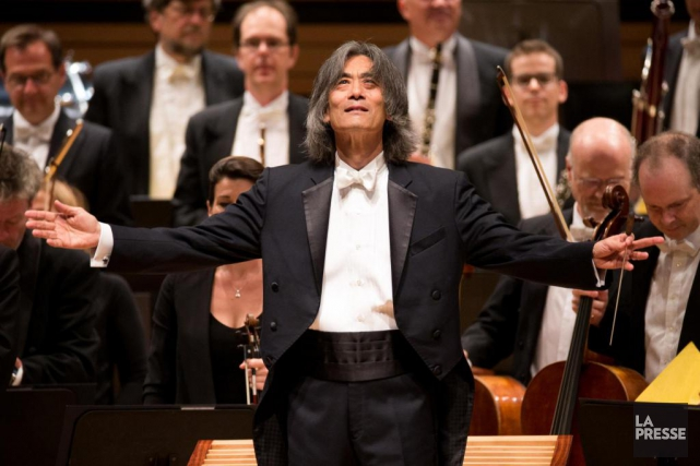 Kent Nagano aabordé la partition avec une vigueur... (Photo Olivier Jean, La Presse)