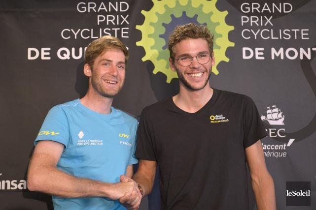 Hugo Houle et Antoine Duchesne participeront auGrand Prix... (Photo Yan Doublet, Le Soleil)