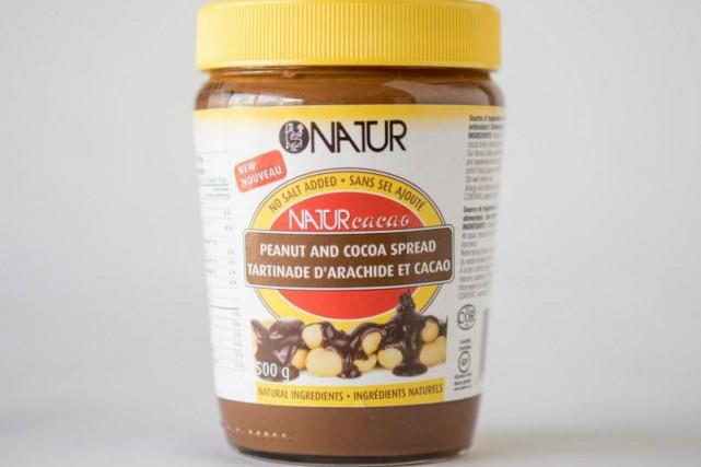 La tartinade d'arachide etde cacao de Natur est... (Photo Marco Campanozzi, La Presse)