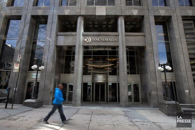 Les bureaux de SNC-Lavalin, à Montréal.En vertu d'une... (Archives La Presse)