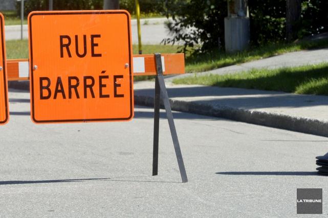 On sait maintenant à partir de quand sera fermée la rue Léger pour des travaux... (Archives La Tribune, Maxime Picard)