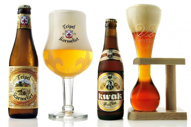 Kwak et Tripel Karmeliet, deux bières spéciales très...