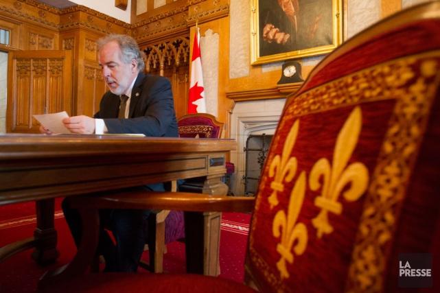 Le chef du Bloc québécois, Rhéal Fortin.... (photo Archives La Presse, Ivanoh Demers)