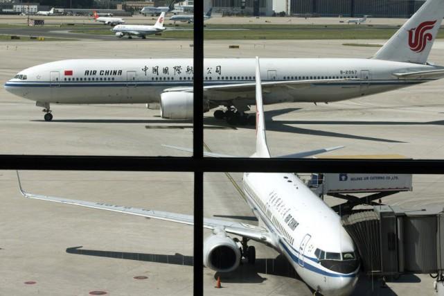 L'éditeur d'un magazine de la compagnie aérienne Air China s'est excusé jeudi... (PHOTO ARCHIVES AP)