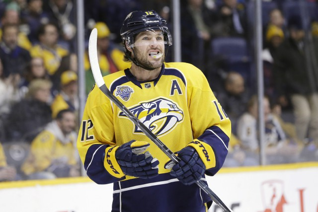 Mike Fisher... (Photo Mark Humphrey, AP)
