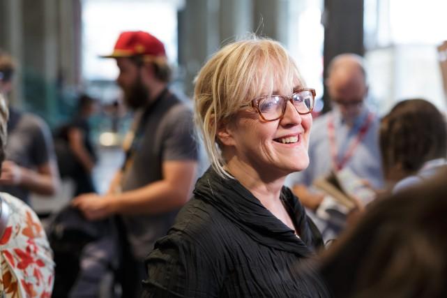 La directrice générale de Téléfilm Canada, Carolle Brabant.... (PHOTO ULYSSE LEMERISE, COLLABORATION SPÉCIALE)