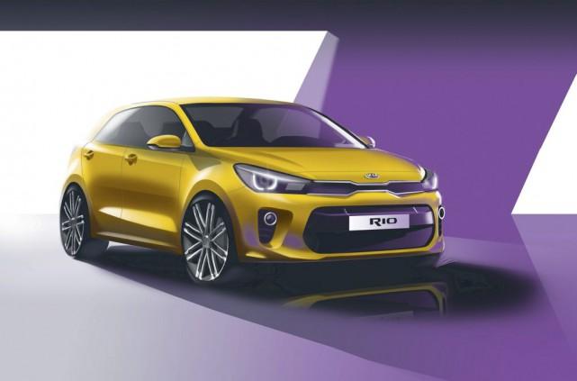 La Kia Rio quatrième génération sera dévoilée dans... (Image: Kia)