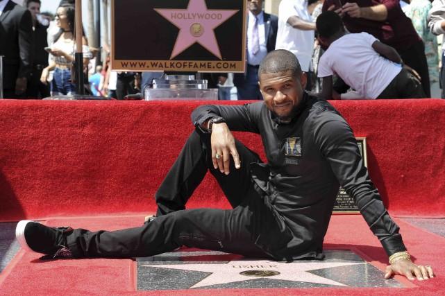 Une étoile pour Usher (AP, Richard Shotwell)