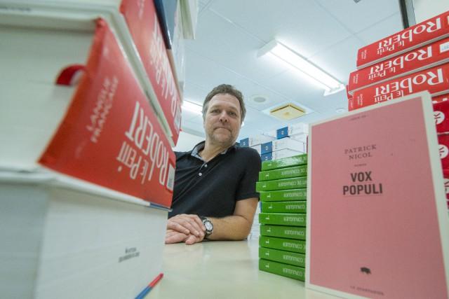 Exceptionnellement, le dixième roman de Patrick Nicol, Vox... (Spectre Média, Julien Chamberland)