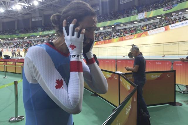 Immédiatement après sa course, Nicole Clermont a appelé... (Sportcom, Émilie Bouchard-Labonté)