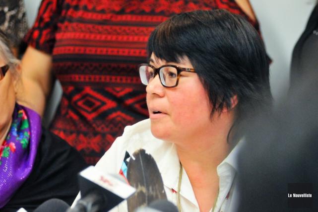 Eva Ottawa est devenue, jeudi, présidente du Conseil... (Archives, Le Nouvelliste)