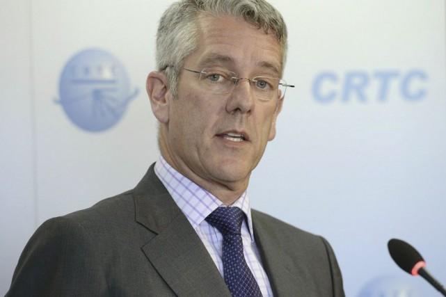 Le président du CRTC, Jean-Pierre Blais... (Archives, La Voix de l'Est)