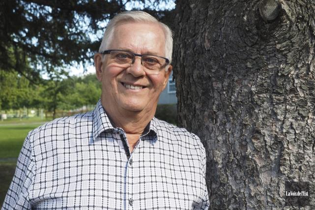 Le maire de Rougemont, Alain Brière.... (Alain Dion, La Voix de l'Est)