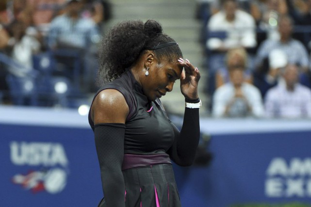 Serena Williams... (PHOTO TIMOTHY A. CLARY, AGENCE FRANCE-PRESSE)