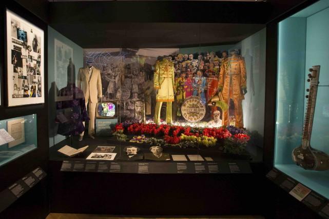Des costumes - originaux et répliques - qu'ont... (AFP, Daniel Leal-Olivas)