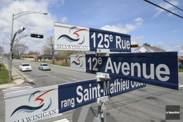 Les changements de noms de rues à Shawinigan... (Sylvain Mayer, Le Nouvelliste)