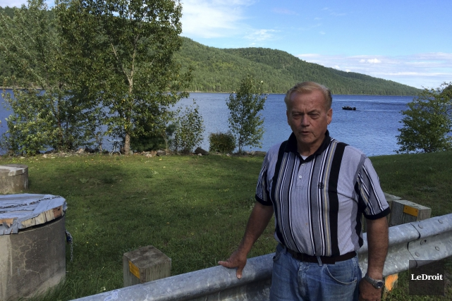 Jim Gibson, maire de Rapides-des-Joachims, village d'à peine... (Patrick Duquette, LeDroit)