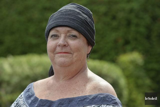 Diagnostiquée d'un cancer, Josée Morel considère que le... (Le Soleil, Patrice Laroche)