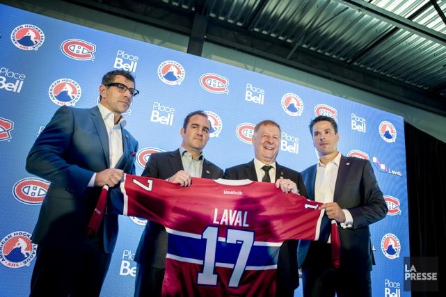 Le club-école du Canadien de Montréal s'appellera le... (Archives La Presse)