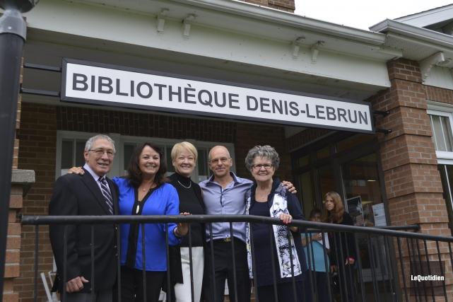 Clément Martel, Louise Portal, Chantale Simard, Gérald Lebrun... (Photo Le Quotidien, Louis Potvin)