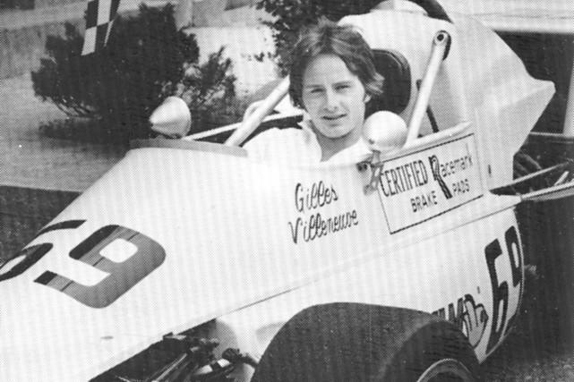 Gilles Villeneuve a survolé la compétition le 5... (Amis du Grand Prix)