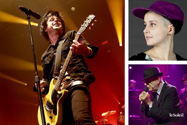 Les amateurs de musique seront comblés cet automne avec les nouvelles offrandes... (Infographie Le Soleil)