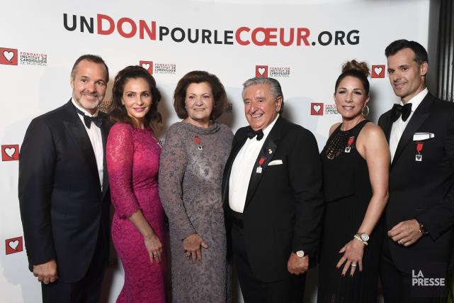 Joey Saputo, président de l'Impact de Montréal et... (PHOTO BERNARD BRAULT, LA PRESSE)