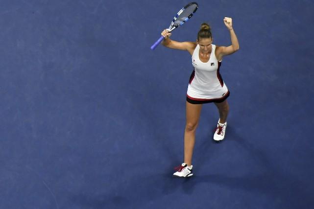 Pliskova participera à sa première finale à un... (Photo AFP)