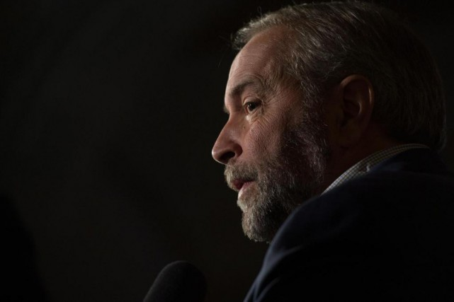 Thomas Mulcair, chef du NPD... (Photo Adrian Wyld, archives La Presse Canadienne)