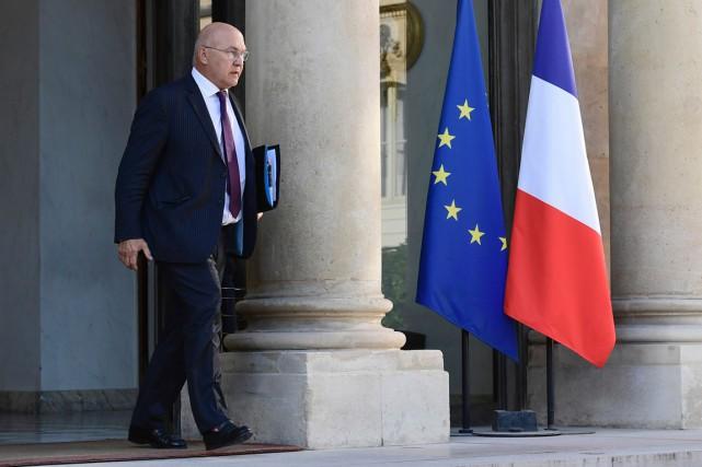Le ministre de l'Économie et des Finances, Michel... (PHOTO MIGUEL MEDINA, AFP)