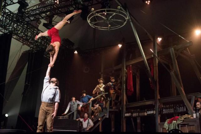 Après les six représentations de Saloon à Saint-Tite,... (PhotoStéphane Lessard, Le Nouvelliste)