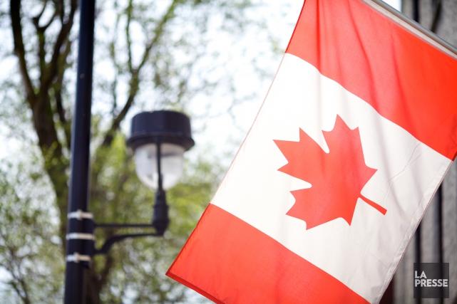 Drapeau du Canada... (Archives La Presse)