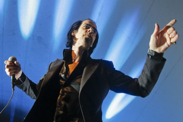 Nick Cave en 2013 à Austin, Texas... (AP, Jack Plunkett)