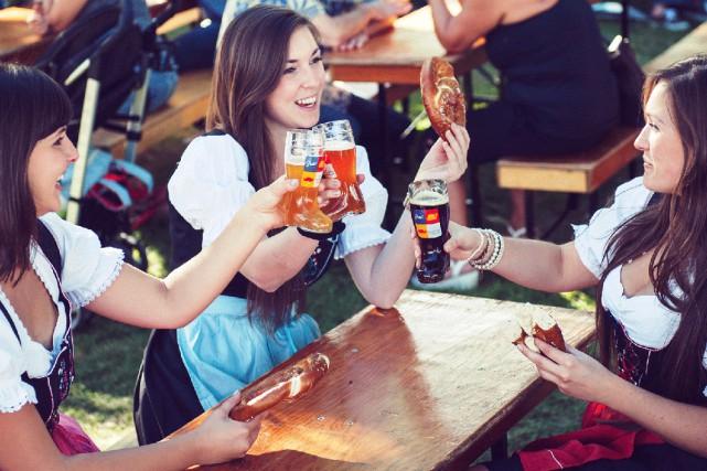La saison des festivals de bière se termine ce week-end avec la tenue de la... (Photo fournie par l'Oktoberfest de Repentigny)