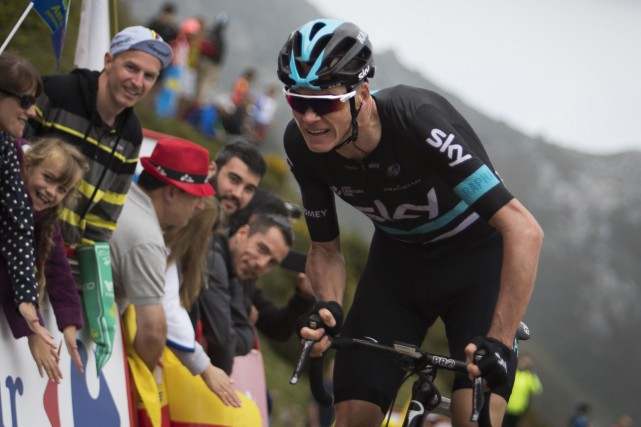 Chris Froome... (Photo Jaime Reina, AFP)