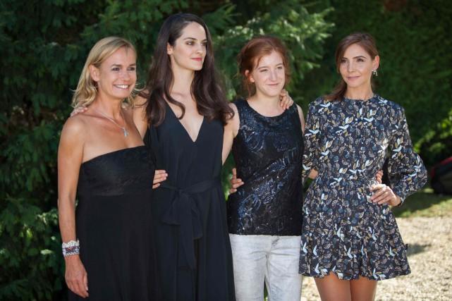 Les actrices Sandrine Bonnaire, Noémie Merlant, Noémie Amarger... (PHOTO ARCHIVES AFP)