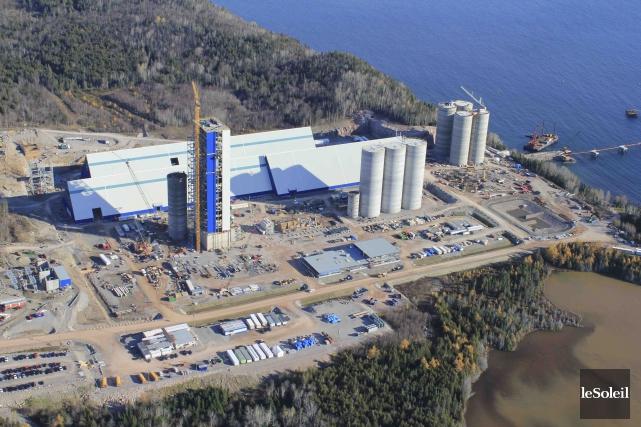 La cimenterie de Port-Daniel pourrait émettre 1,76 million... (Photothèque Le Soleil)