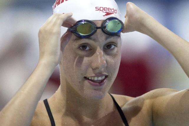 Aurélie Rivard... (Photo La Presse Canadienne)