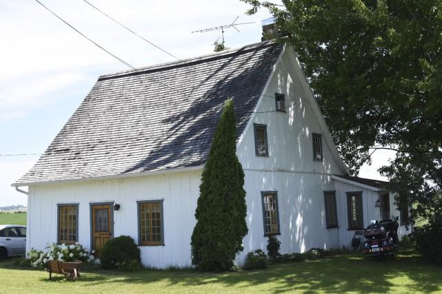 La maison Doucet, située sur la route du... (Terry Charland)