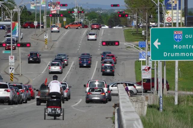 Je m'adresse ici aux élus de la Ville de Sherbrooke au sujet du projet de piste... (Archives, La Tribune)