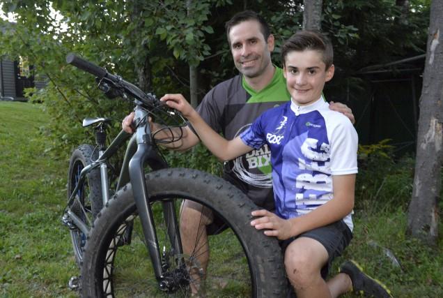Médéric Carrier, âgé de 12 ans, a remporté... (Spectre Média, Maxime Picard)